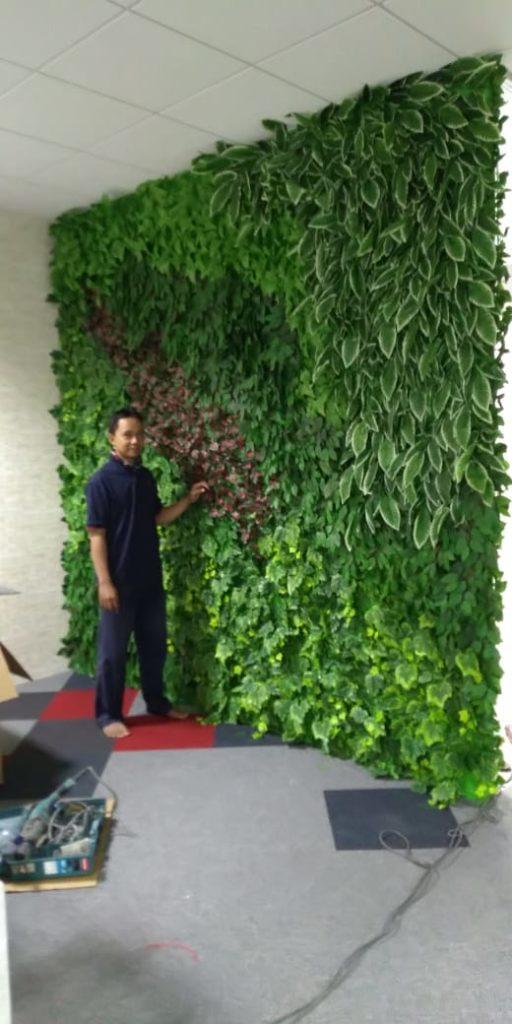 Jasa Tukang Taman Vertikal Jakarta