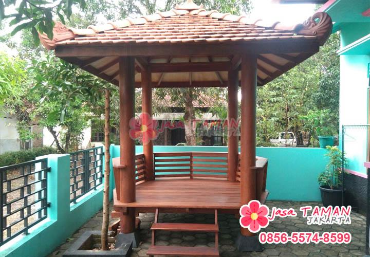 Jasa pembuatan gazebo Jakarta